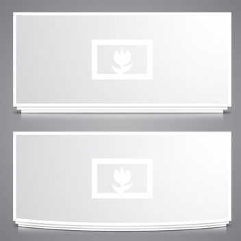 2 Detailed Photo Slider Frames Template - Free vector #182117