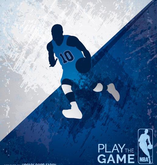 Basketball grunge design - vector gratuit #182297