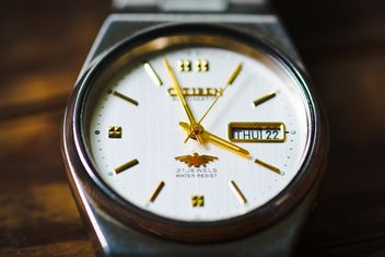 Wrist watch close-up - image #182857 gratis