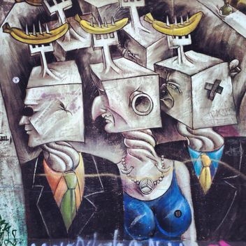 Graffity on Berlin wall - бесплатный image #183177