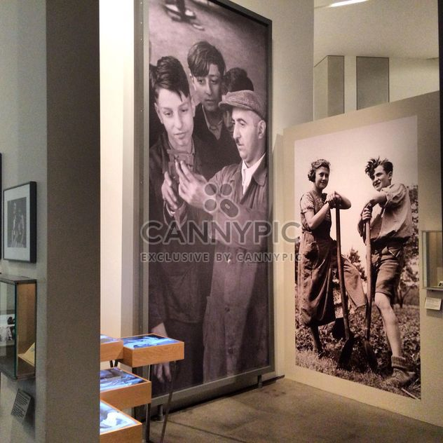 Monumental pictures in Jewish Museum, Berlin - Free image #183247