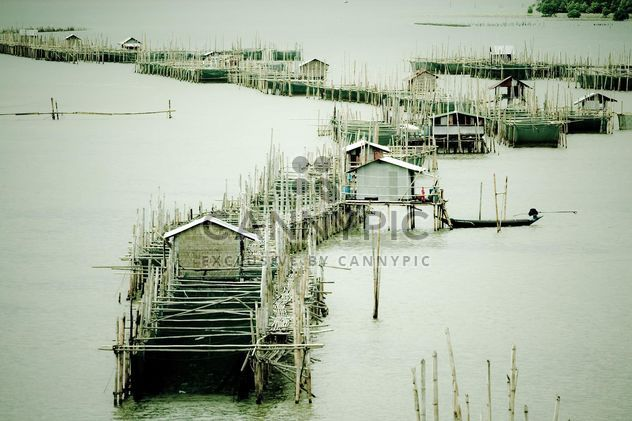 Fisherboats on pier - image gratuit #183417