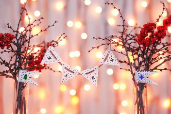Beautiful Christmas decoration. #warm - Free image #183787