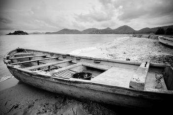 Old fishing boat - image #183837 gratis