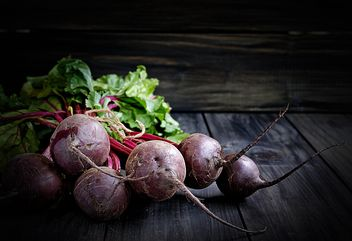 Beetroot close up - Free image #183927