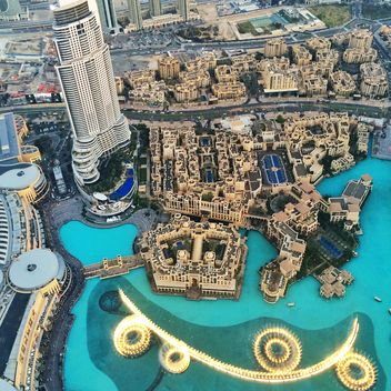 The top view on Dubai - image #184047 gratis
