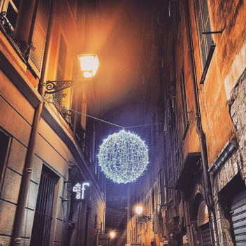 Streets in christmas decoration - Kostenloses image #184327