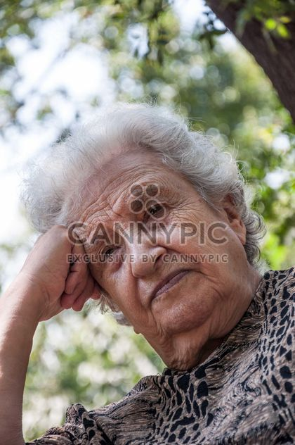 senior woman thinking - Free image #185767