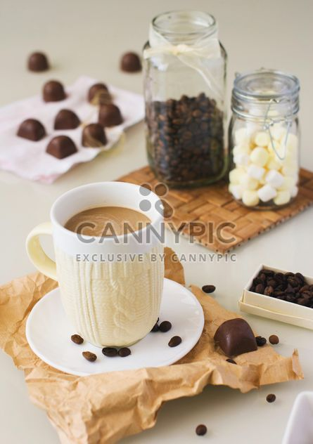 Homemade candies and coffee - image #185847 gratis