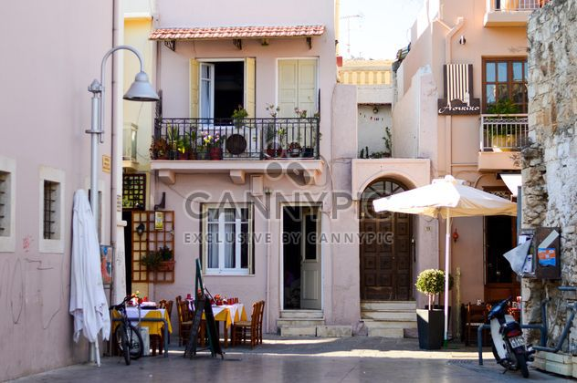 Facade of house in Greece - Free image #186267