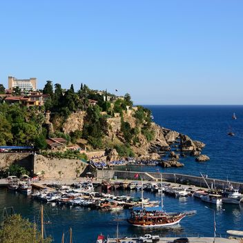 View of bay in Antalya - бесплатный image #186277