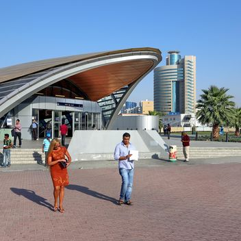 Union metro station, Dubai - бесплатный image #186697
