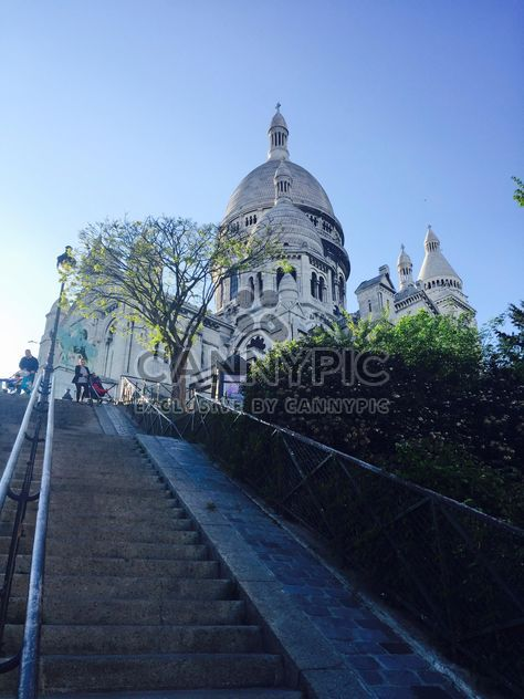 Basilica of the Sacre Coeur in Paris - Free image #186847