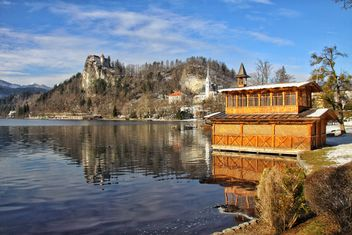 View of Bled Lake - Kostenloses image #186897