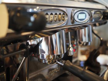 Coffee machine close up - image #186907 gratis
