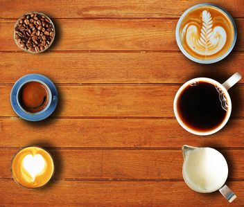 Coffee set of six cups - бесплатный image #186987