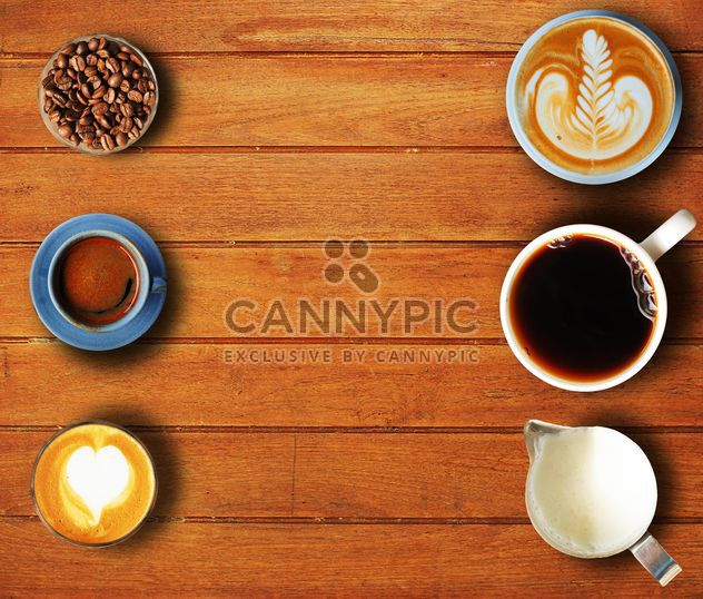 Coffee set of six cups - image gratuit #186987