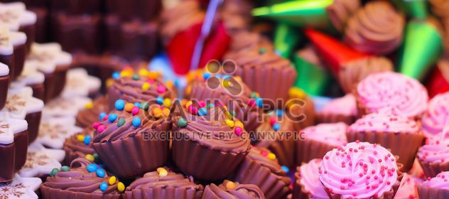 Sweet desserts close up - Free image #187317