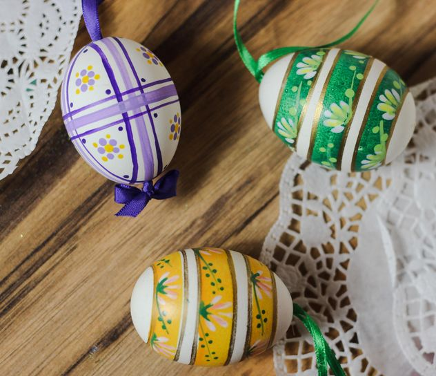 Decorative Easter eggs - Free image #187477