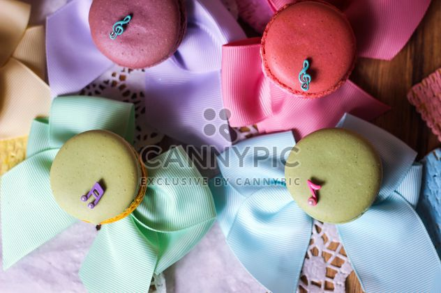 Colorful macaroons and cookies - Free image #187607