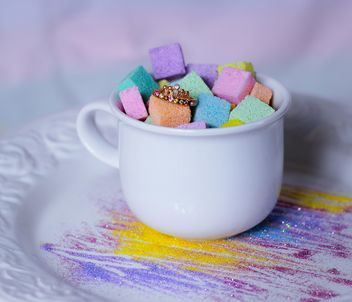 Colorful refined sugar - Free image #187647