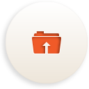 Folder Upload - icon gratuit #188367