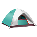 Camping Tent - Kostenloses icon #188827