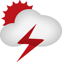 Sun Clouds Thunder - icon gratuit #188957