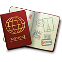 Passport - icon gratuit #189227