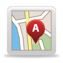 Map - icon #189727 gratis