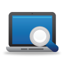 Search Laptop - Kostenloses icon #189747