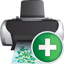 Printer Add - icon #190347 gratis