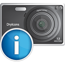 Photo Camera Info - icon gratuit #190367