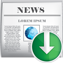 News Down - icon #190427 gratis