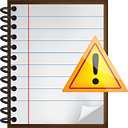 Notes Warning - icon #190467 gratis
