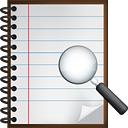 Notes Search - icon #190497 gratis