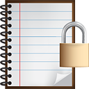 Serrure de notes - icon gratuit #190527