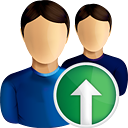 Users Up - icon gratuit #190587