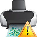 Printer Warning - icon gratuit #190667