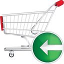Shopping Cart Back - icon gratuit #190697