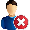 User Delete - icon gratuit #190737