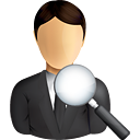 Business User Search - Free icon #190837
