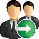 Business Users Next - icon gratuit #190847