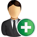Business User Add - Free icon #191007