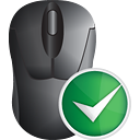Mouse Accept - icon gratuit #191157