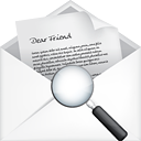 Mail Open Search - icon #191177 gratis