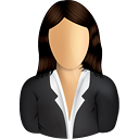 Female Business User - icon gratuit #191217