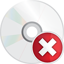 Disc Delete - icon gratuit #191257