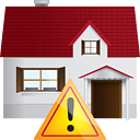 Home Warning - Kostenloses icon #191287