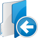 Folder Previous - icon gratuit #192117